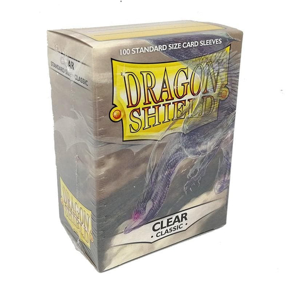 Dragon Shield - Clear, 63.5x88, 100 gab.