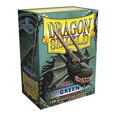 Dragon Shield - Green, 63.5x88, 100 gab.