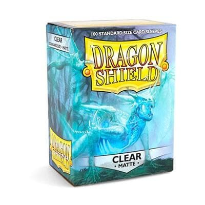 Dragon Shield - MATTE Sleeves (100) - CLEAR