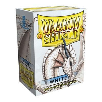 Dragon Shield - White, 63.5x88, 100 gab.