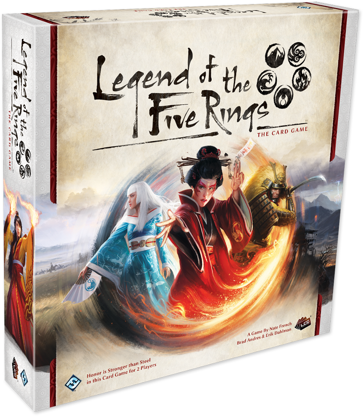 Legend of the Five Rings: The Card Game, galda spēle