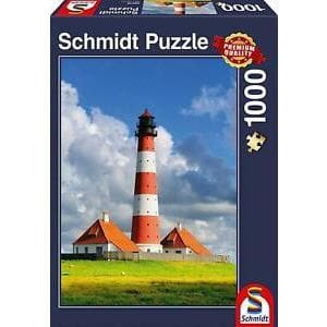 Puzle, 1000 - Westerhever Lighthouse