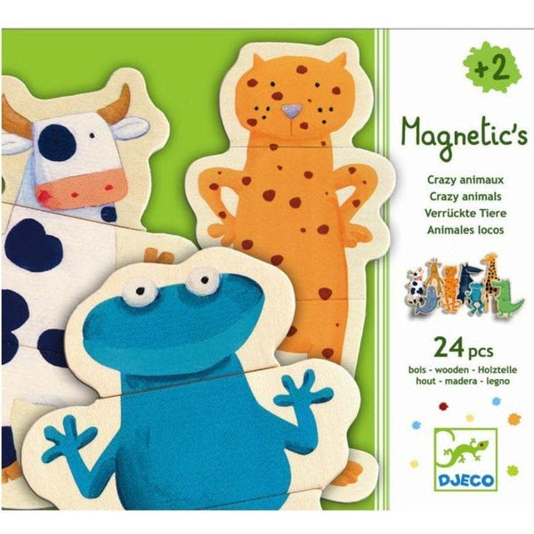 Wooden magnetics - Crazy animals