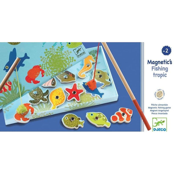Wooden magnetics - Tropical fishing