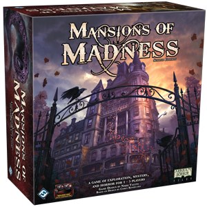Mansions of Madness 2nd Ed., galda spēle