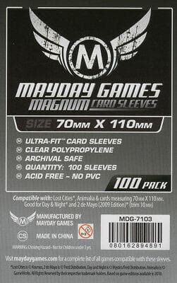 Sleeves Magnum UF Lost Cities 100pcs