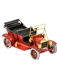 Metal Earth - 1908 Ford Model T, Red/Gold, metāla konstruktors