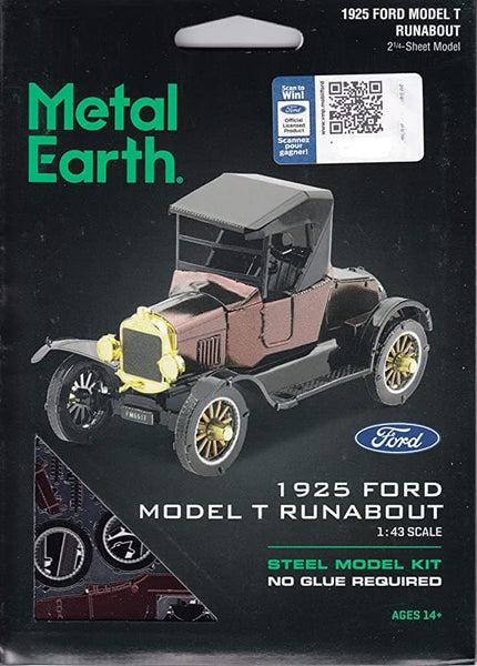 Metal Earth - 1925 Ford Model T Runabout, konstruktors