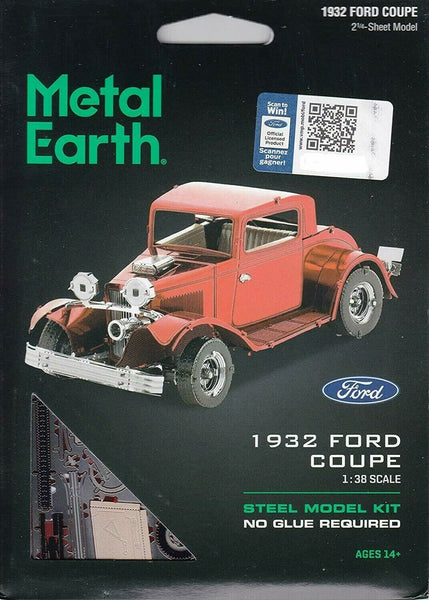 Metal Earth - 1932 Ford Coupe, konstruktors