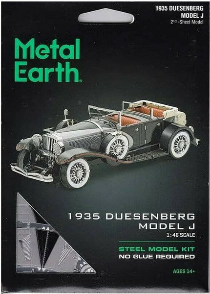 Metal Earth - 1935 Duesenberg Model J, konstruktors