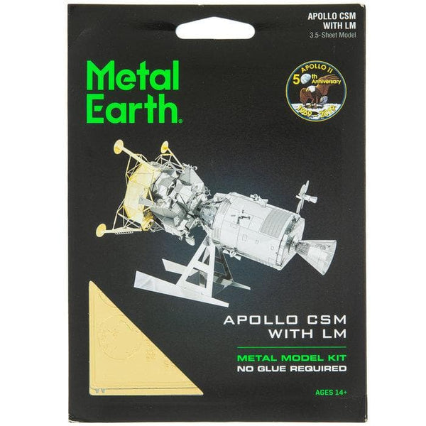 Metal Earth - Apollo CSM with LM, konstruktors