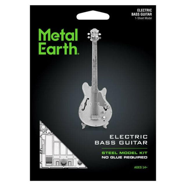 Metal Earth - Bass Guitar, konstruktors