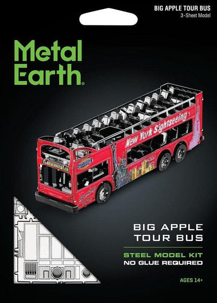 Metal Earth - Big Apple Tour Bus, konstruktors