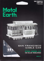 Metal Earth - Cable Car, konstruktors