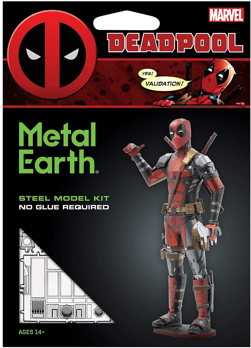 Metal Earth - Deadpool, metāla konstruktors