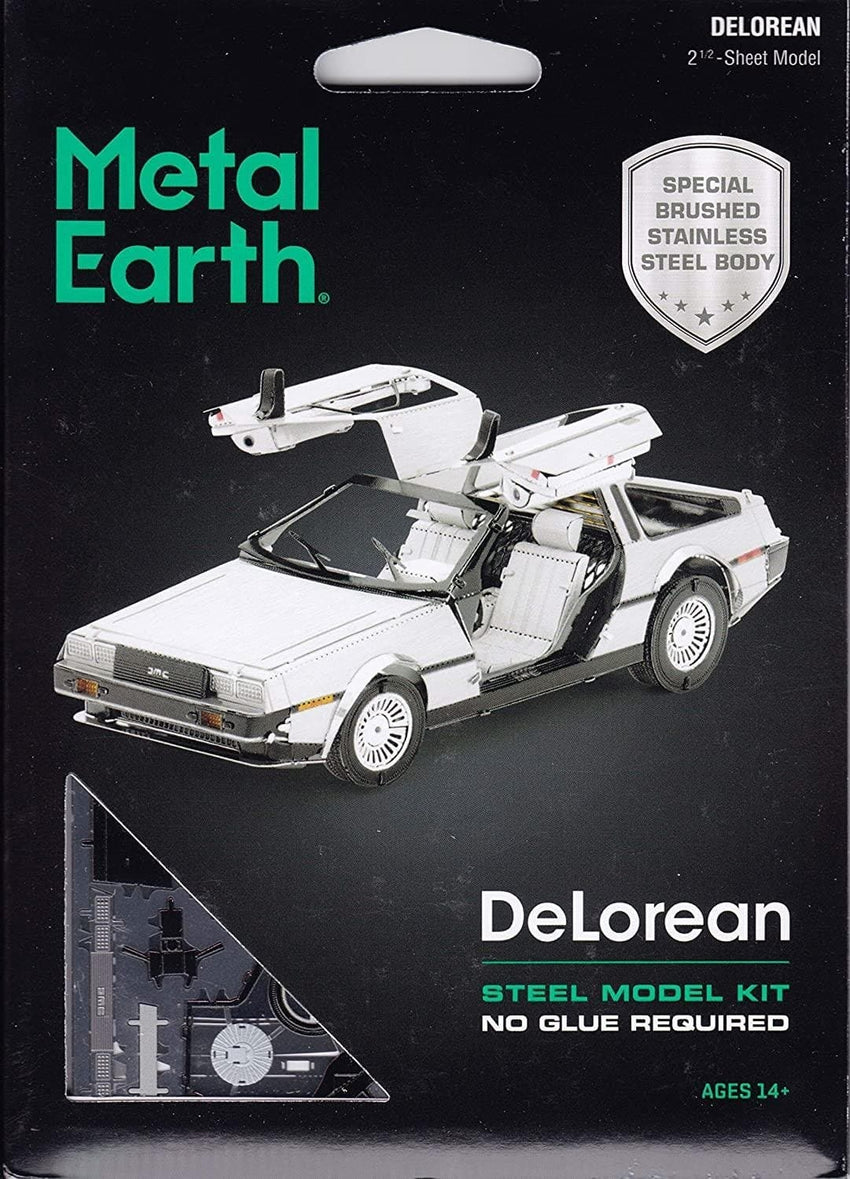 Metal Earth - DeLorean, konstruktors