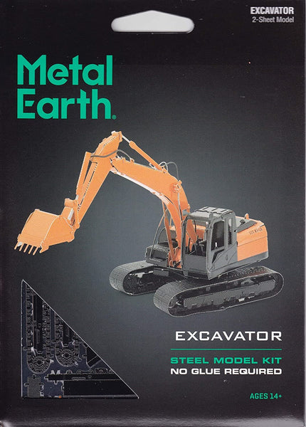Metal Earth - Excavator, konstruktors