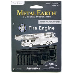 Metal Earth - Fire Engine, konstruktors