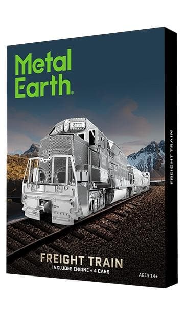 Metal Earth - Freight Train, konstruktors