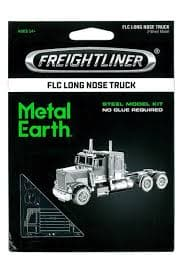 Metal Earth - Freightliner FLC Long Nose Truck, konstruktors