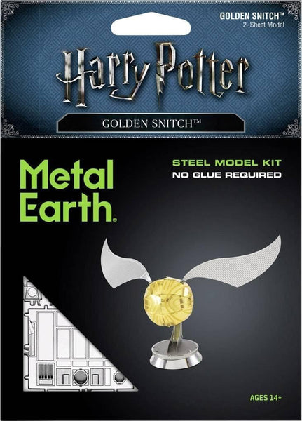 Metal Earth - Golden Snitch, konstruktors