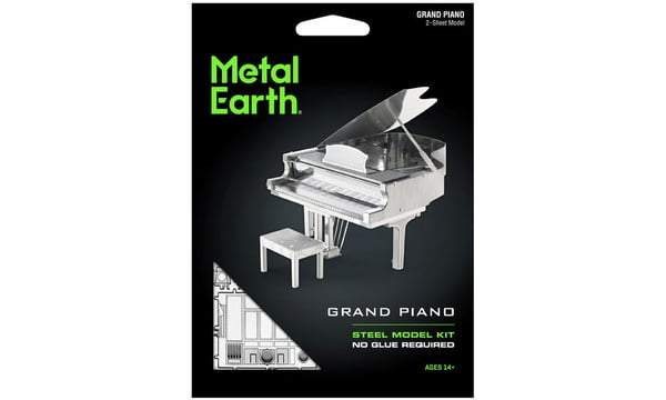 Metal Earth - Grand Piano, konstruktors