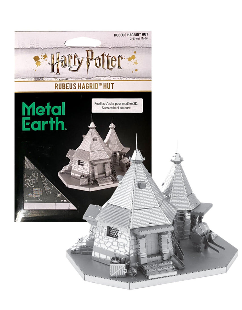 Metal Earth - Harry Potter: Rubeus Hagrid Hut, metāla konstruktors