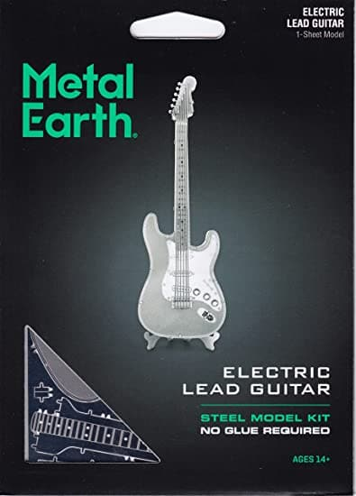 Metal Earth - Lead Guitar, konstruktors