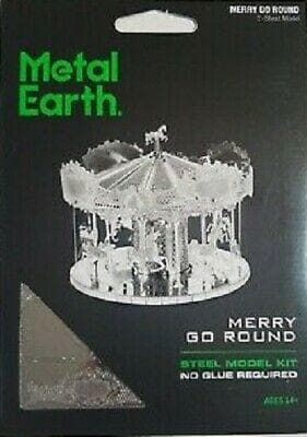 Metal Earth - Merry Go Round, konstruktors
