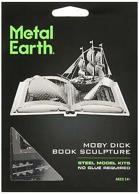 Metal Earth - Moby Dick Book Sculpture, konstruktors