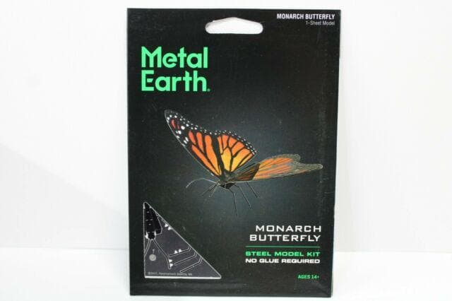 Metal Earth - Monarch Butterfly, konstruktors