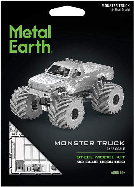 Metal Earth - Monster Truck, konstruktors