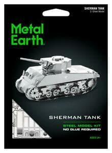 Metal Earth - Sherman Tank, konstruktors