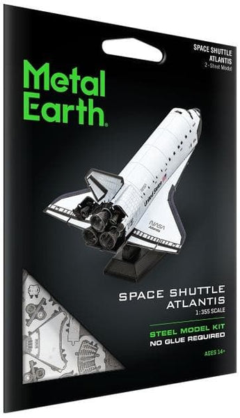 Metal Earth - Space Shuttle Atlantis, konstruktors