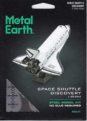 Metal Earth - Space Shuttle Discovery, konstruktors