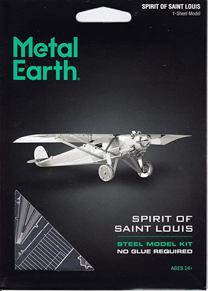 Metal Earth - Spirit of St. Louis, konstruktors