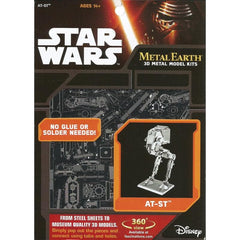 Metal Earth - Star Wars: AT-ST, metāla konstruktors