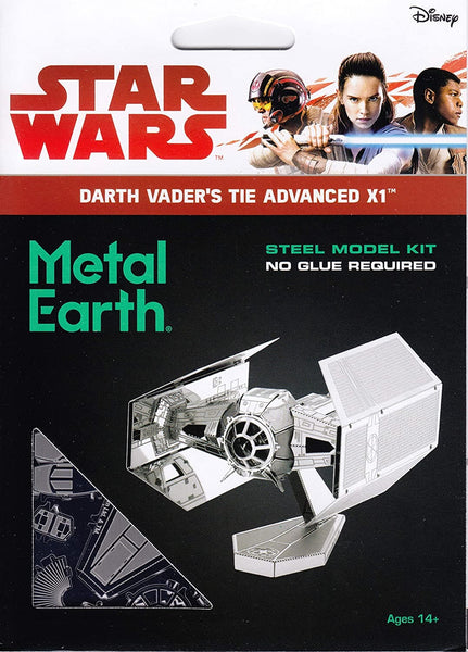 Metal Earth - Star Wars: Darth Vader's Tie Advanced X1, metāla konstruktors