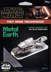 Metal Earth - Star Wars: First Order Treadspeeder, metāla konstruktors
