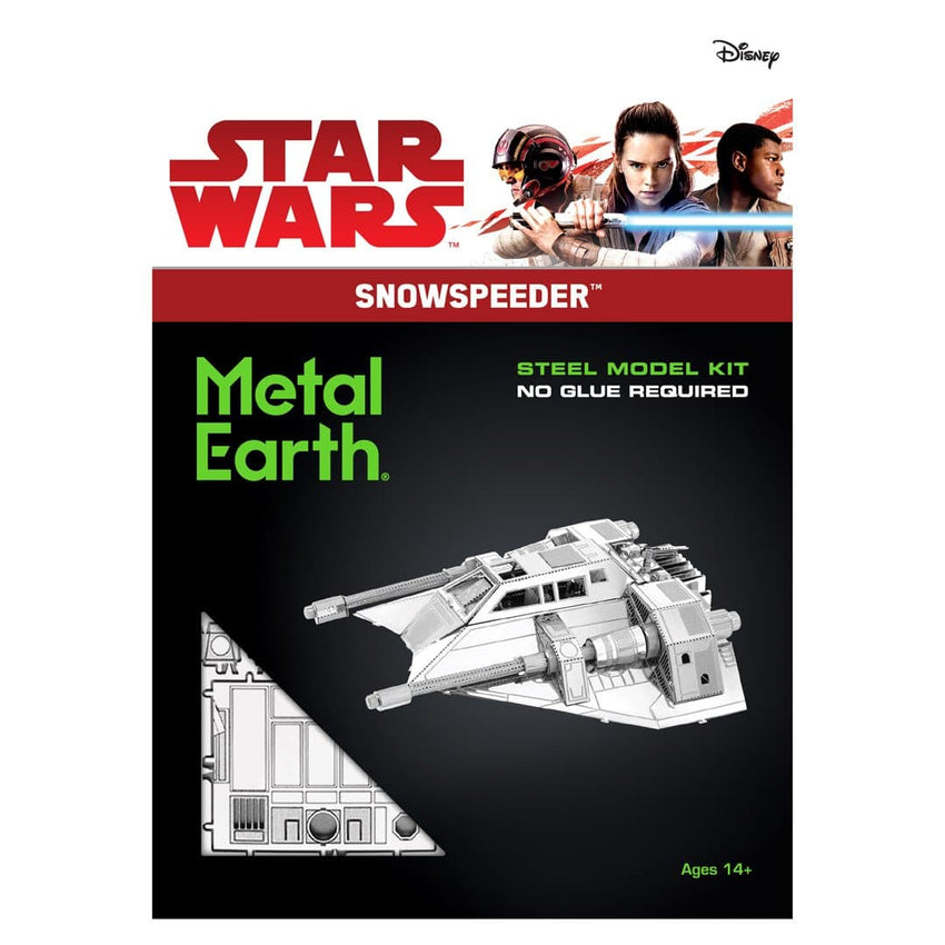 Metal Earth - Star Wars: Snowspeeder, metāla konstruktors