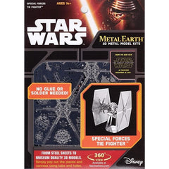 Metal Earth - Star Wars: Special Forces Tie Fighter, metāla konstruktors