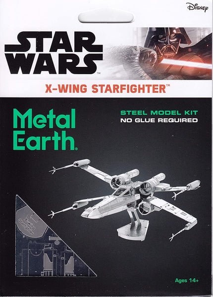 Metal Earth - Star Wars X-wing Star Fighter, konstruktors