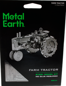 Metal Earth - Farm Tractor, konstruktors