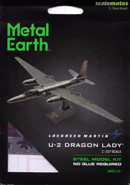 Metal Earth - U-2 Dragon Lady, konstruktors