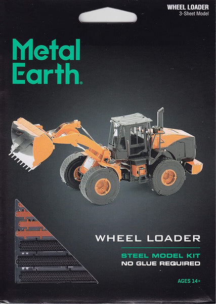 Metal Earth - Wheel Loader, konstruktors