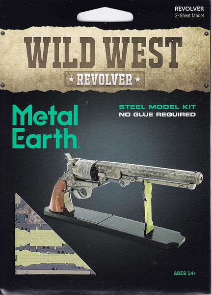 Metal Earth - Wild West Revolver, konstruktors