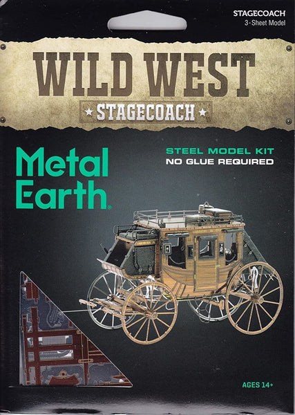 Metal Earth - Wild West Stagecoach, konstruktors