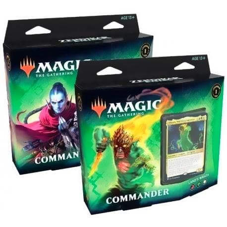 Magic The Gathering: Zendikar Rising Commander Deck