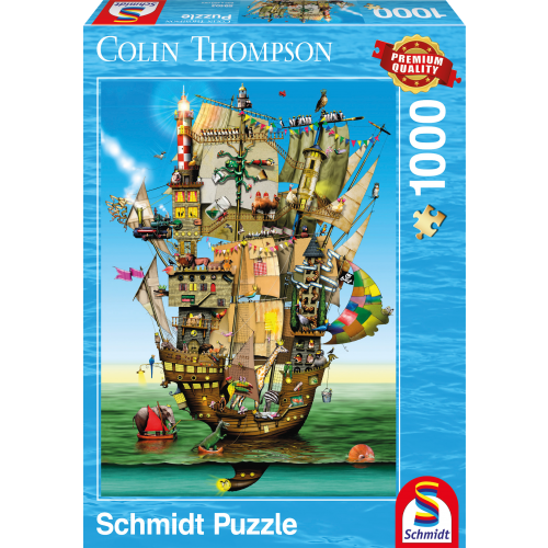 Puzle, 1000 - Colin Thompson: Noah's Ark