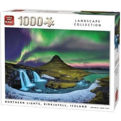 Puzzle Northern Lights Iceland 1000 pcs